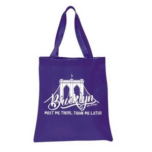 BROOKLYN BRIDGE (Double-sided logo) TOTE