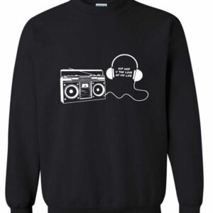 BOOMBOX & HEADPHONES Sweatshirt