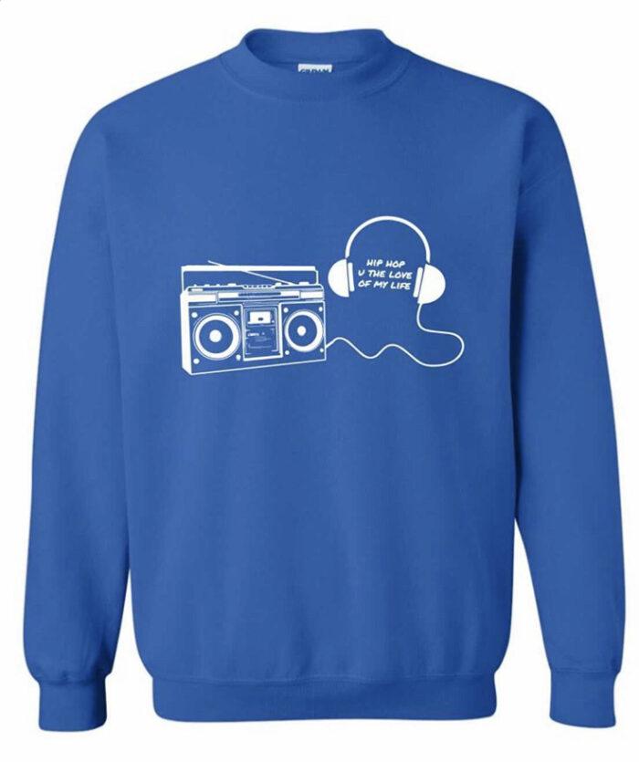 BOOMBOX & HEADPHONES Sweatshirt