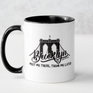 bklyn bridge mug (blk interior)